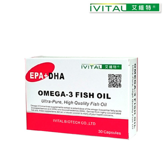 IVITAL艾維特®分子蒸餾高濃縮魚油軟膠囊(30粒裝)