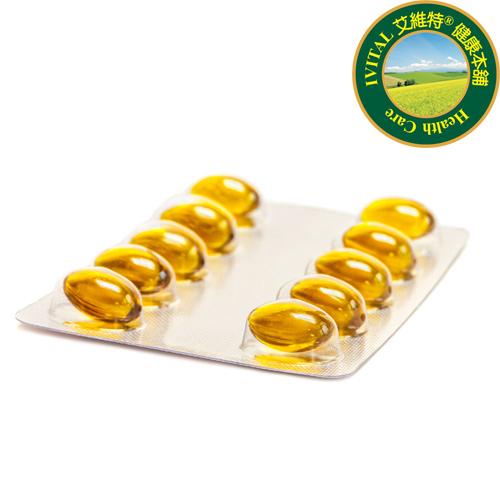 IVITAL艾維特®80%濃縮rTG魚油(60粒)「買3送1瓶葡萄籽/白藜蘆醇組」