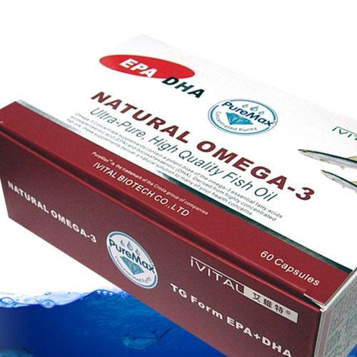 英國CRODA原廠高濃縮TG型魚油軟膠囊(60粒)