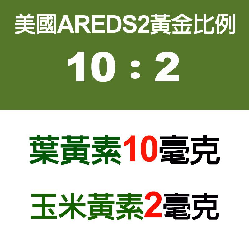 AREDS2 KEMIN授權 IVITAL艾維特®金盞花萃取葉黃素+玉米黃素植物膠囊